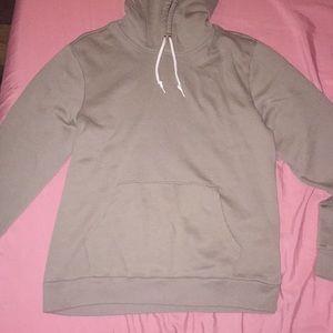 old navy sand colored hoodie